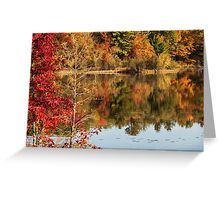 Autumn Watercolors Greeting Card
