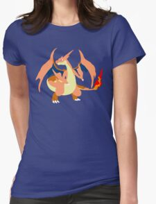Charizard Mega Y Womens Fitted T-Shirt