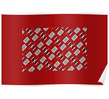 Christmas Wrapping Paper Poster