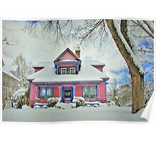 Candyland Cottage Poster