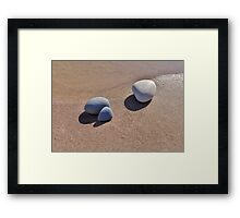 Peace Pebbles Framed Print
