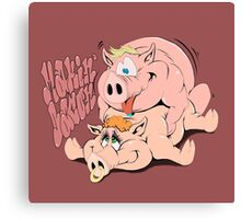 Makin' Bacon Canvas Print