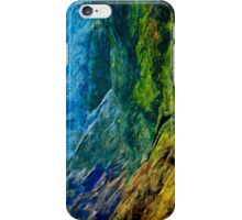 Waimea Canyon 10 Abstract Impressionism iPhone Case/Skin