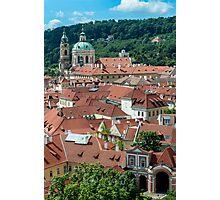 City of Prague. Photographic Print