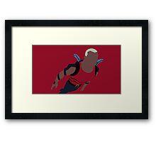Aqualad Minimalism Framed Print