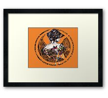 The Hunger Games. Framed Print