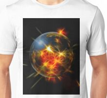 Abstract Christmas Decoration Ball Unisex T-Shirt