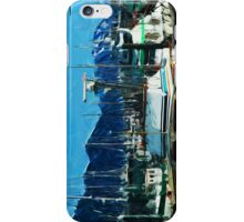 The Harbor of Seward Alaska Abstract Impressionism iPhone Case/Skin