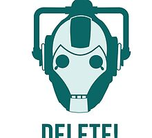 Cyberman 'Delete!' by RSdesign7