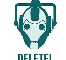 Cyberman 'Delete!' by RSdesign7