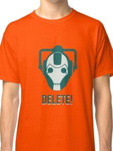 Cyberman 'Delete!' Classic T-Shirt