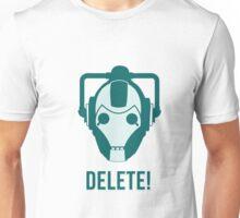 Cyberman 'Delete!' Unisex T-Shirt