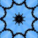 Ornamental metal arch kaleidoscope by Avril Harris
