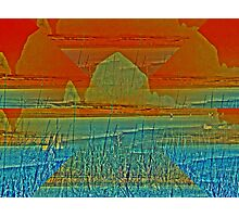 Haystack Rock in Layers Photographic Print