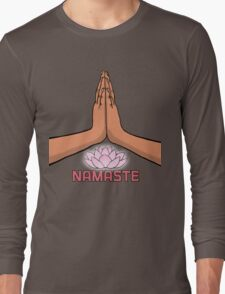 Namaste 1 Long Sleeve T-Shirt