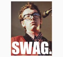 Elvis Costello Swag by Ewan Martin