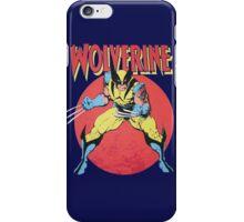 Wolverine Retro Comic iPhone Case/Skin