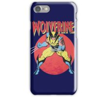 Wolverine Retro Comic iPhone Case/Skin