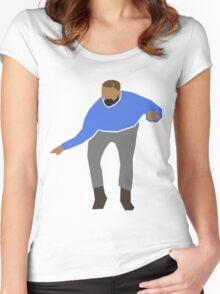Hotline Bling Drake Graphic Women's Fitted Scoop T-Shirt