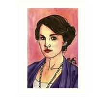 Lady Mary Art Print