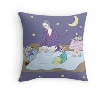 Northern Night Throw Pillow