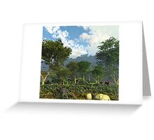 Woodland Huntsman Greeting Card