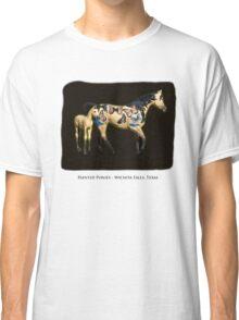 Painted Ponies - Wichita Falls, Texas Classic T-Shirt