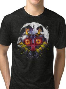 Power Behind The Mask Tri-blend T-Shirt