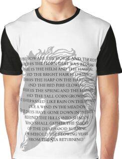 Where now are the horse and the rider Graphic T-Shirt