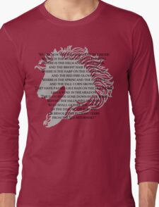 Where now are the horse and the rider Long Sleeve T-Shirt