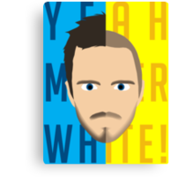 Breaking Bad, Jesse Pinkman Canvas Print
