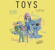 Toys! One Piece - Short Sleeve
