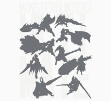 Monster Hunter 3 Ultimate - Crew Kids Clothes