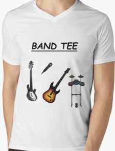 Band Tee Mens V-Neck T-Shirt