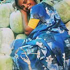Watermelon pillow, India by indiafrank