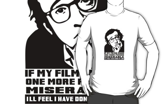 Woody Allen by rudeboyskunk