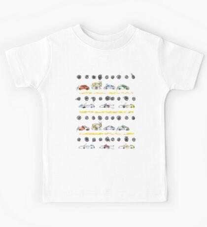 Cars pattern! Kids Tee
