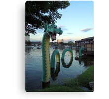 Look What Came Out of the Water  Canvas Print