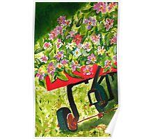 Wagon Dance Poster