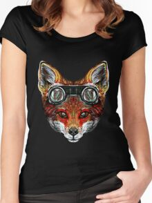 Foxy the Flying Fox Women's Fitted Scoop T-Shirt