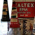 Oil bottles by Julie Sherlock