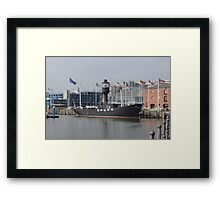 Spurn Lightship Framed Print