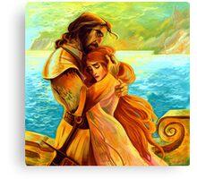 Sansa and Sandor Canvas Print