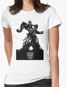 Transformers - Optimus Prime Womens Fitted T-Shirt