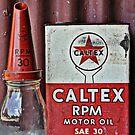 Caltex memorabilia by Julie Sherlock