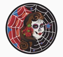 Day of the dead moon Kids Clothes