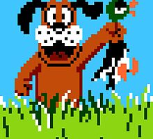 """Retro Retriever"" Duck Hunt by CanisPicta"