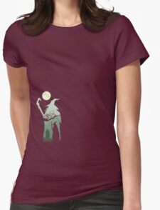 Gandalf - The Lord Of The Rings. Womens Fitted T-Shirt
