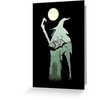 Gandalf - The Lord Of The Rings. Greeting Card