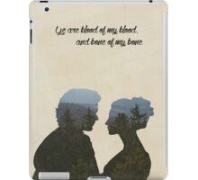 Blood of my blood iPad Case/Skin